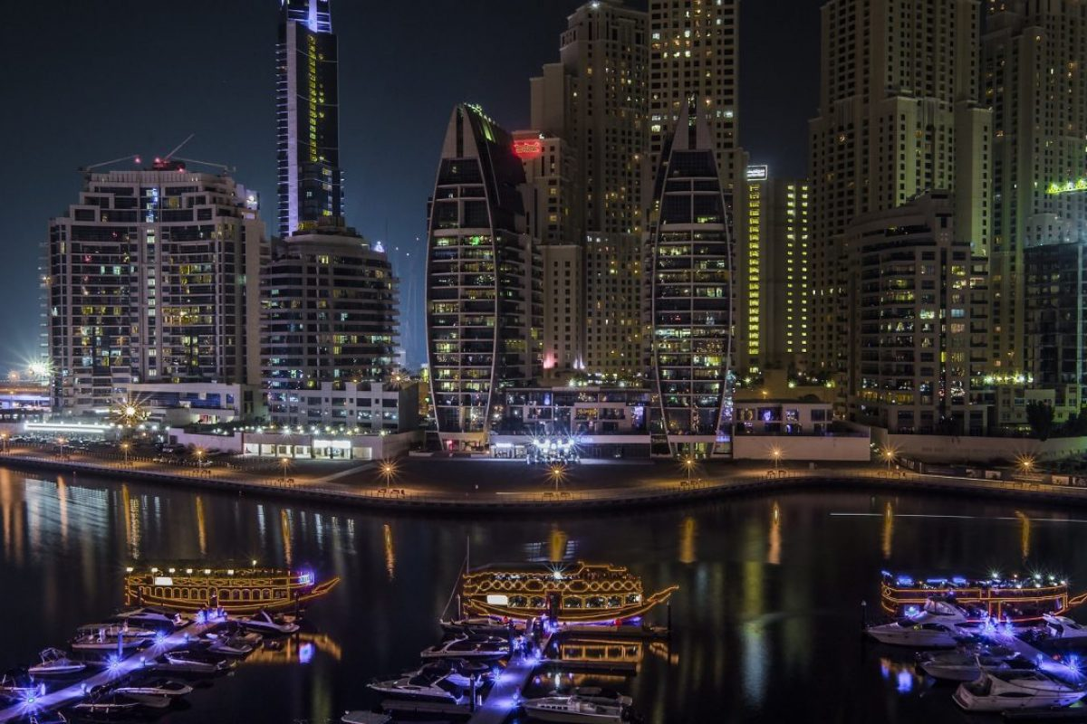 Background - Dubai marina